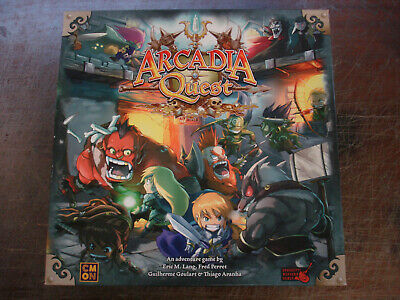 Arcadia Quest Cmon Strategy Board Game  • 39.75£