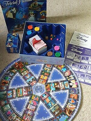 Trivial Pursuit Disney Edition Vintage 1999 Family Board Game Complete Hasbro • 5£