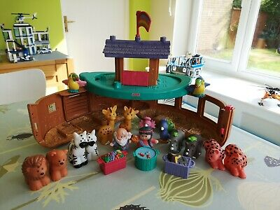 Fisher Price Little People Noah's Ark Including Noah And His Wife Plus Animals • 7.50£
