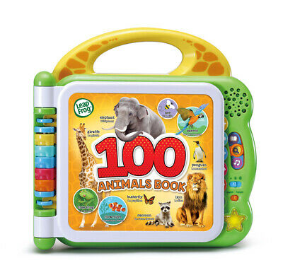 Leap Frog 100 Animals Book • 19.99£