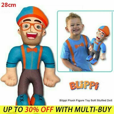 11 Inch Blippi Plush Figure Toy Soft Stuffed Doll For Kids Birthday Gift UK Sell • 6.88£
