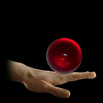 90mm Ruby Red Translucent Acrylic Contact Ball • 34.99£