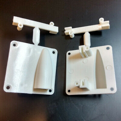 Wing Servo Mount With Covers RC Aircraft Choose Size From Drop Down  • 6.99£
