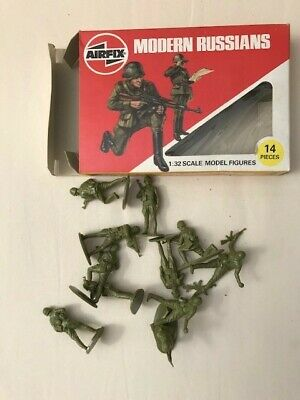 Airfix Plastic 1/32 Scale Modern Russian Army Figures (as Seen) • 8.41£