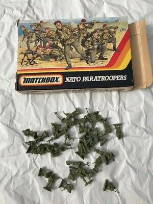 Matchbox Nato Paratroopers With Box (as Seen) • 1.20£