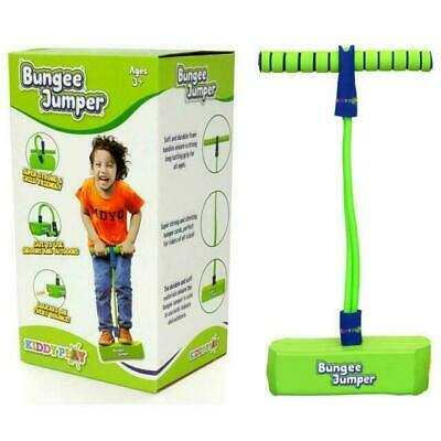 KiddyPlay Bungee Jumper Bouncer Childrens Soft Pogo Stick Space Hopper Toy • 12.99£