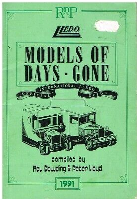 Lledo Days Gone Die-cast Models (1983-91) Product Range Book • 12.50£