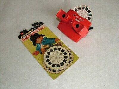 Vintage Gaf Viewmaster 3D Viewer With Paddington Bear Slides • 8.50£