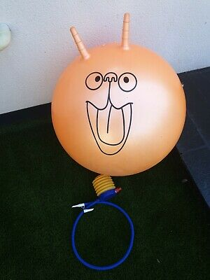 Retro Space Hopper With Pump • 4.70£