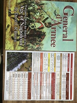 General D'Armee Napoleonic Rules By David Brown  • 6.59£