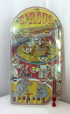 Vintage Bagatelle Game, Marks & Spencer, Circus, Pin Ball, Skill, Elephants. • 8.99£