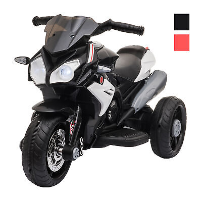 Kids Electric Pedal Motorcycle Ride-On Toy Battery Powered 6V For 3-8 Years Old • 61.99£