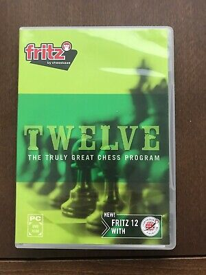 Fritz Twelve  'The Truly Great Chess Program' For PC • 25£