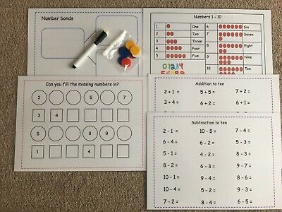 Reception And Key Stage 1 Learn To Add And Subtract To 10,number Bonds To 10 • 5.90£