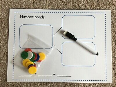 Number Bonds To 20, Reception And Key Stage 1 Learning Resource, Learn To Count  • 3.75£