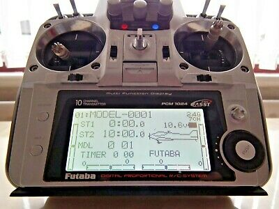 Futaba T10cp 2.4 Ghz Fasst Transmitter, Superb Condition And Fully Working  • 179.95£