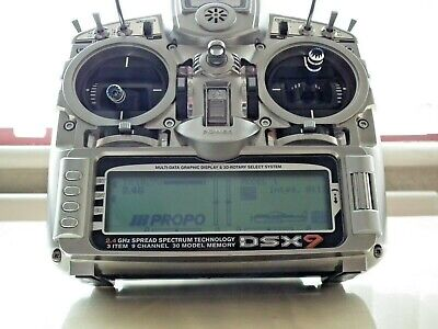 J/r Dsx9 2.4 Ghz Dsm2 9 Channel Transmitter, Excellent Condition With Ali Case • 179.95£