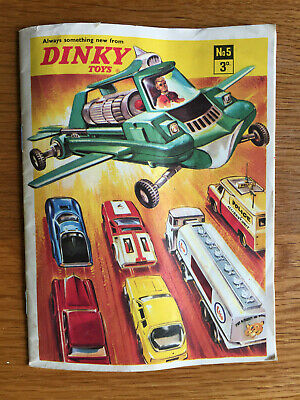 Dinky Toys Catalogue No. 5 From 1969 • 14£