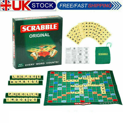 Scrabble Board Game Family Kids Adults Educational Toys Puzzle Game UK • 7.35£
