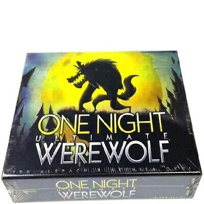 One Night Ultimate Werewolf - Board Game & Sealed Gifts Toys UK • 8.14£