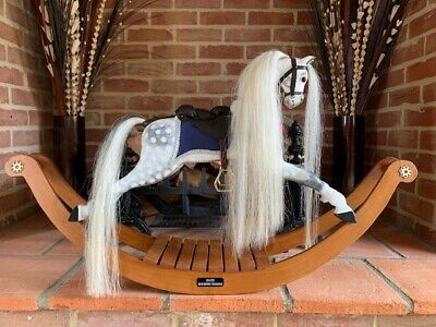Stunning Display Sized Wooden Rocking Horse 'Isabelle' - FREE DELIVERY! • 550£