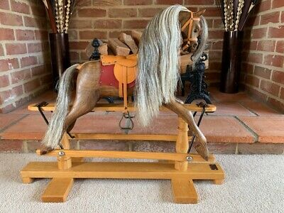 Stunning Display Sized Wooden Rocking Horse 'Sara-Marie' - FREE DELIVERY! • 530£