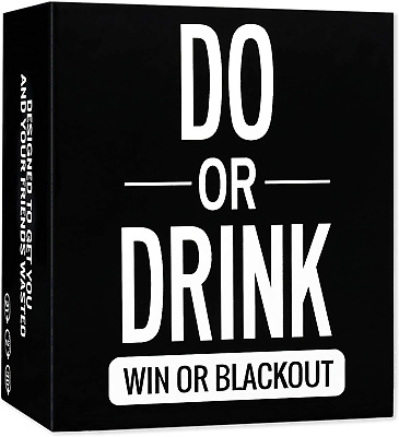 Do Or Drink - Drinking Card Game For Adults - Fun & Dirty Party - Dare Or Shots • 13.99£
