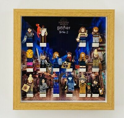 Display Frame For Lego Harry Potter Series 2 Minifigures 71028 No Figures 25cm • 20.75£