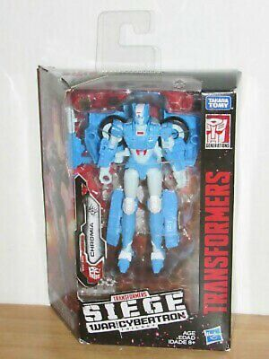 Transformers Generations War For Cybertron Siege Deluxe Class Chromia • 22.90£