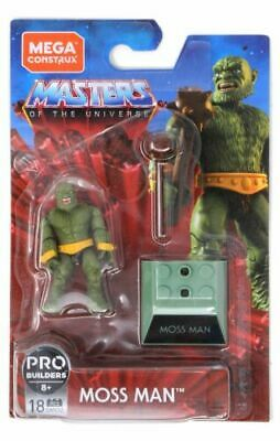 Mega Construx Pro Builders Masters Of The Universe Moss Man - New In Stock • 18.99£