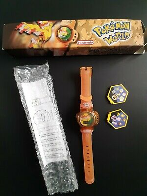 Rare 1 Of 6 Different Pokemon World Watches Burger King 2000 MOLTRES (5)  • 12.50£