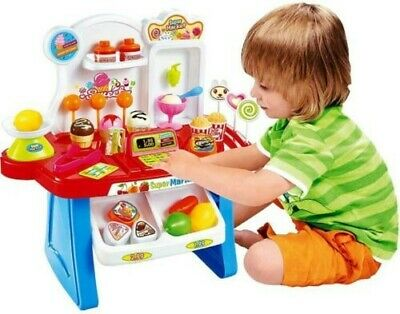 The Land Of Make Believe Supermarket Play Set Over 34 Pieces • 15£
