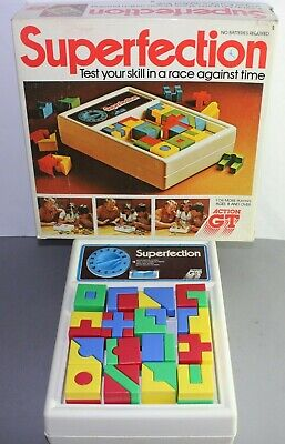Rare Vintage Superfection Game 1980s (Action GT) • 18.79£