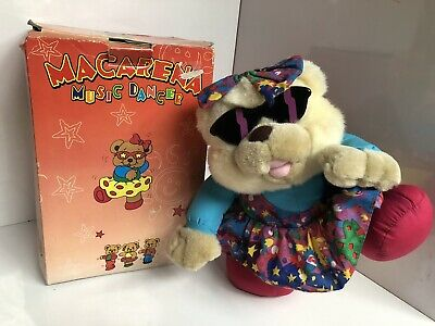 RARE Plush Macarena Bear 90s Music Dances Vintage Stuffed Toy Teddy • 25£