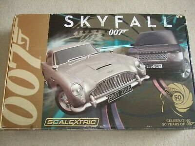 Complete Boxed Skyfall 007  Scalextric Set. • 85£