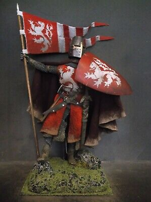 12  Custom Simon De Montfort, Medieval English Crusader Knight 1/6 Figure Ignite • 74.90£