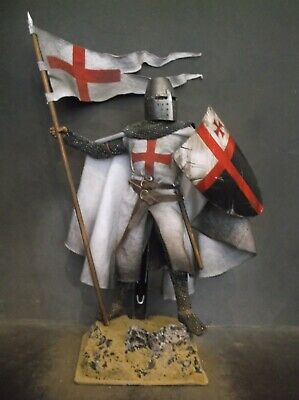 12  Custom Templar Knight Crusader , Medieval Holy Warrior 1/6 Figure Ignite  • 66.09£