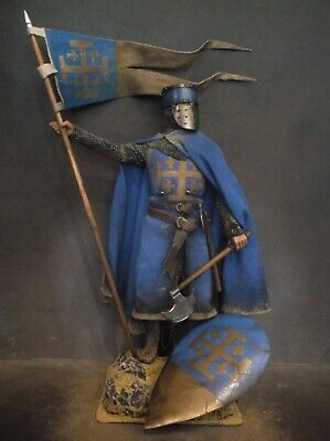12  Custom Knight Of Jerusalem, Medieval Crusader Warrior 1/6 Figure Ignite  • 68£