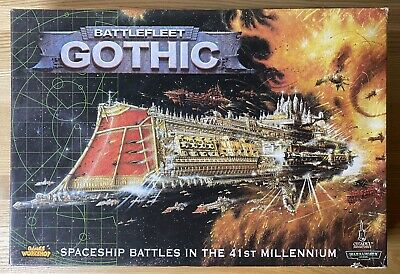 Battlefleet Gothic : Box Set : Boxed Game : Complete Unused • 400£