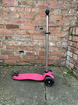 Maxi Micro Scooter Pink • 18£