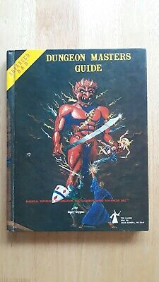 Advanced D&D Dungeon Master's Guide Gary Gygax 1979 • 30£