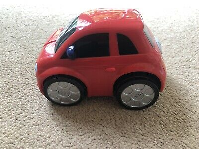 Chicco TURBO TEAM TURBO TOUCH FIAT 500 - SPORT Toddler Child Toy Car • 4.99£