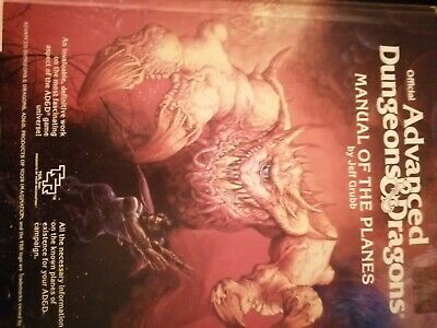 2022 Ad&d Manual Of The Planes Vg 1987 • 27.44£