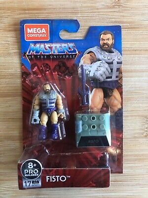 Mega Construx – NEW Masters Of The Universe Heroes Wave 4 – Fisto • 19.99£