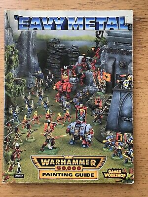 Eavy Metal Painting Guide Warhammer 40k 1994 Very Good Condition • 10£