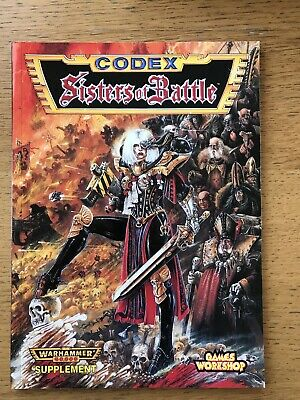 Codex Sisters Of Battle 2nd Edition 1997 Warhammer 40k OOP - Excellent Condition • 38£