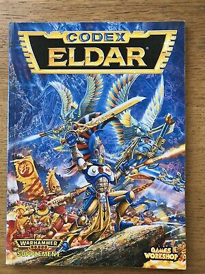 Codex Eldar 2nd Edition Warhammer 40k Rulebook 1994 Excellent Condition • 13.27£