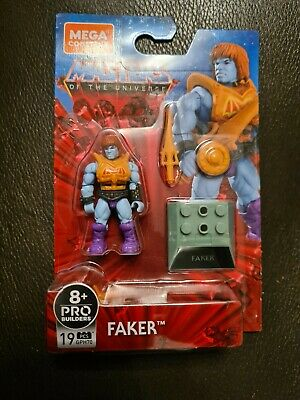 Mega Construx Pro Builders Masters Of The Universe Faker - New In Stock • 18.99£