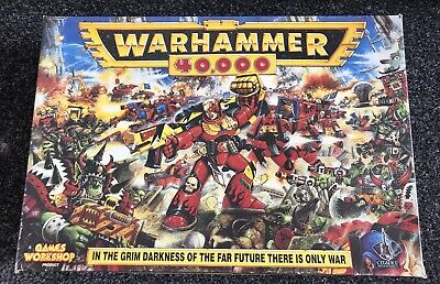 WARHAMMER 40K 2nd Edition Starter Box, With Contents 1993 • 50£