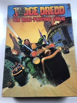 JUDGE DREDD The Role Playing Game - Games Workshop 1985 • 50£